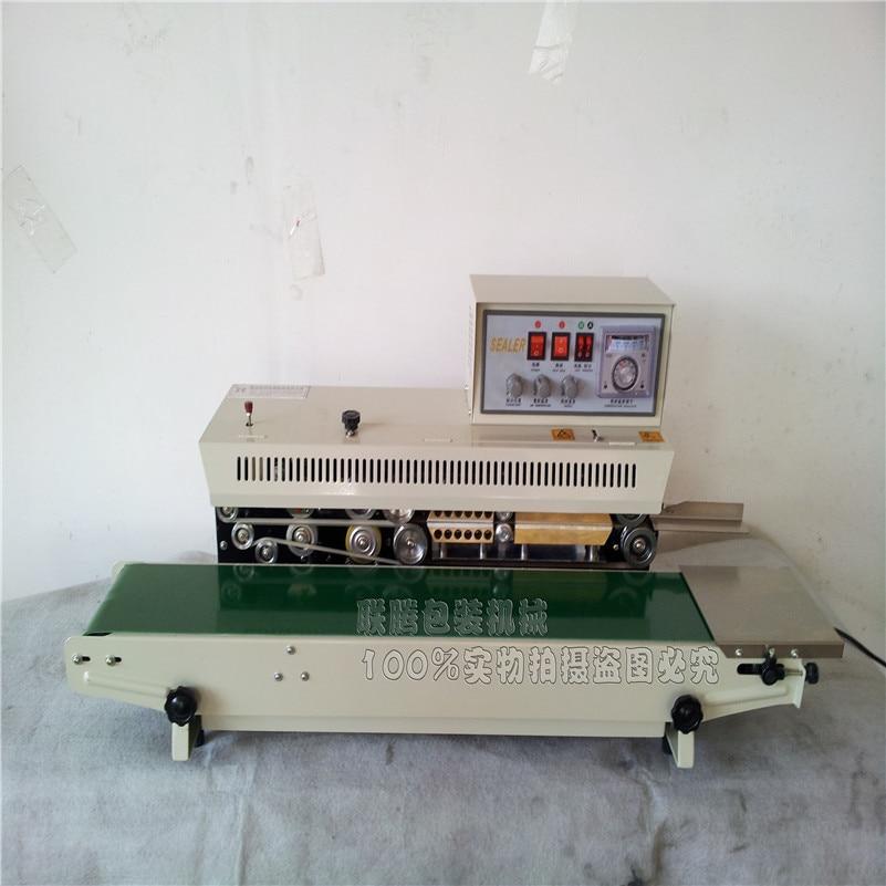 FR-980 Automatic ink roll sealing machine, Continuous ink roll sealer, plastic film bag sealer  цены