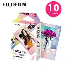 המקורי Fujifilm פוג י Instax מיני 8 עוגיות מקרון סרט 10 גיליונות עבור 70 50 s 7 s 90 25 SP 1 נתח מצלמות מיידיות חדש מגיע