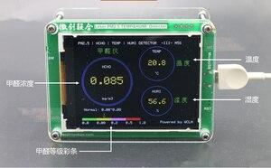 Image 5 - Бесплатно M5S с формальдегидом CO2 TVOC данные о температуре и влажности экспорт PM2.5 CO2 TVOC детектор температуры и влажности PM2.5 датчики тумана