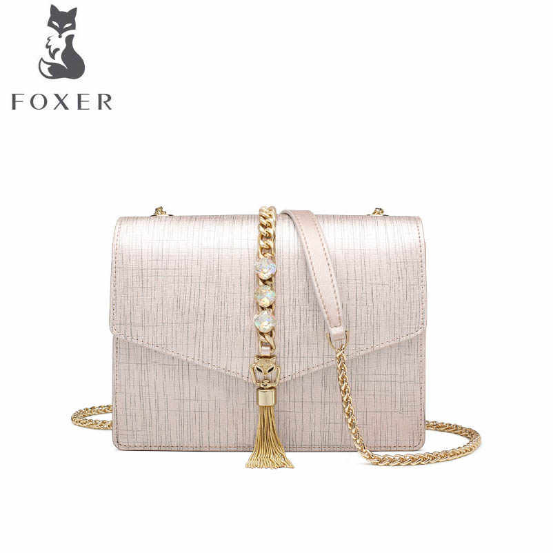 b36c7b53af2a Detail Feedback Questions about FOXER Women Crossbody Shoulder bag ...