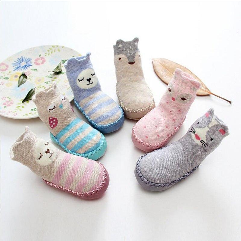 Adorel Calcetines Zapato Antideslizantes para Beb/é Lote de 6