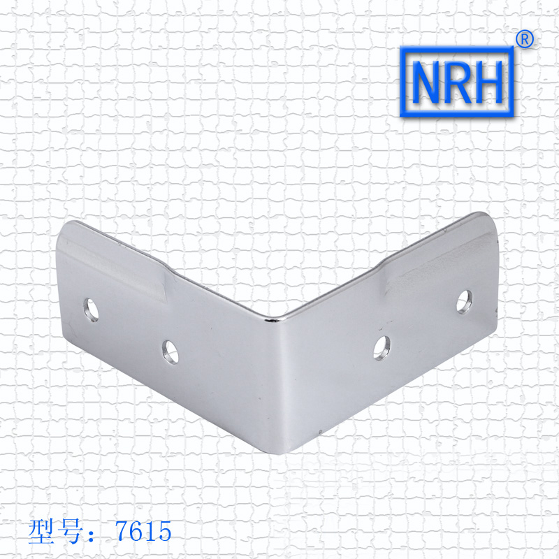 NRH7615 air box package Corner right angle Wrap angle Aluminum box bracket Chrome plated iron nrh4207 air box handle aluminum box wooden box ring toolbox handle chrome plated iron no spring function