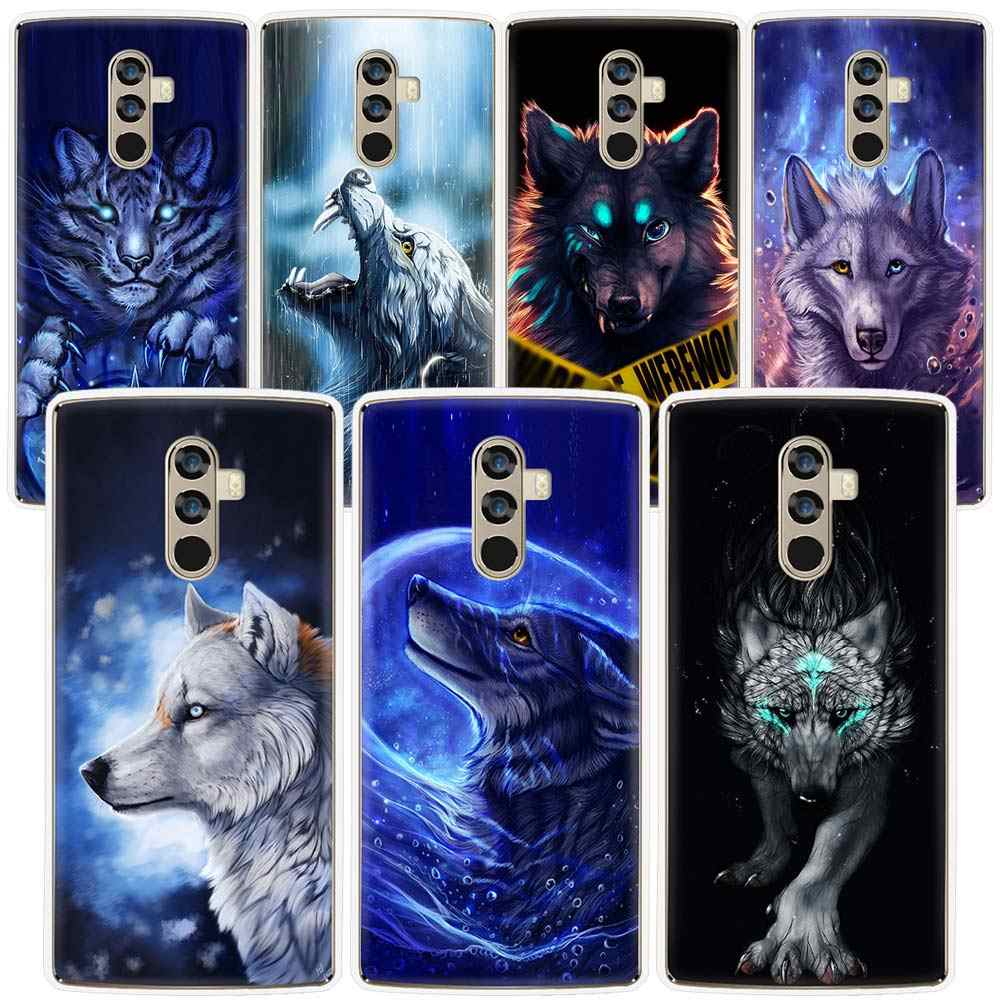 Phone Case for Doogee mix 2 mix2 BL5000 7000 X10 20 30 Shoot1 2 Black Wolf Lion TPU NEW Transparen Soft Silicone Back Cover