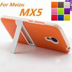 Ultra-mince PC Cadre Doux Cas Meizu MX5 Couverture TPU De Silicium cas Pour Meizu MX5 Mat Sentir Capa Fundas Livraison Un Film
