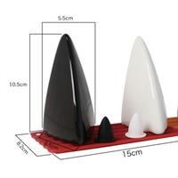Ceramics Novelty Shark Shaped Spice Tools 2pcs/set Home Kitchen Salt and Pepper Bottle