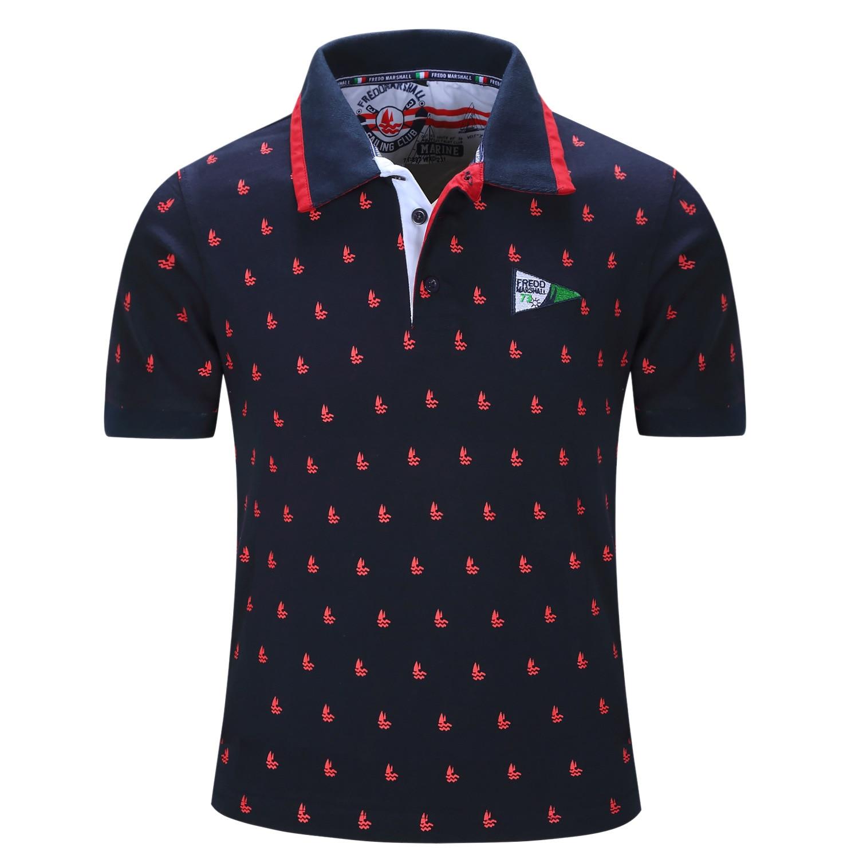 Design t shirt kolar terkini - The Latest Designer 2017 New Summer Fashion Casual Men S Short Sleeve Cotton Printing Polo Shirt Brand Men S Clothing M L Xl Xxl