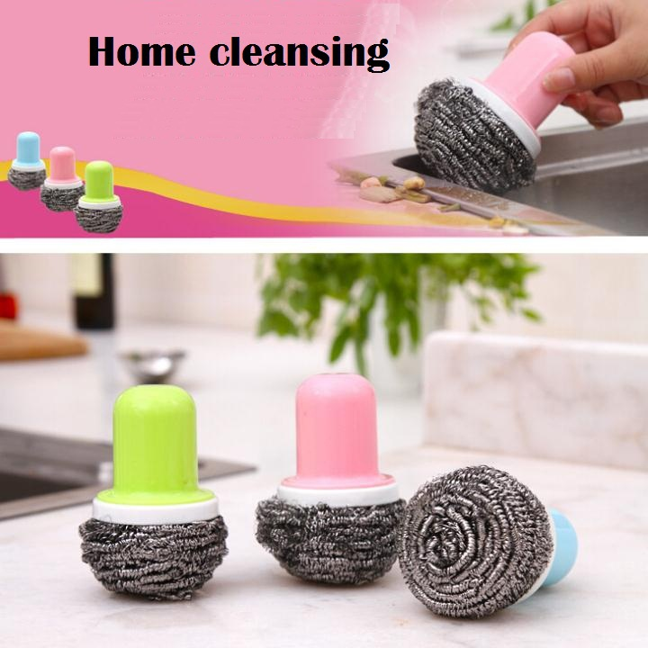 Wash dishes Wire Cleaning Brush Makeup brush cleaner Brushegg Dish pan Kichen limpeza cooking tools Household Clean accessories