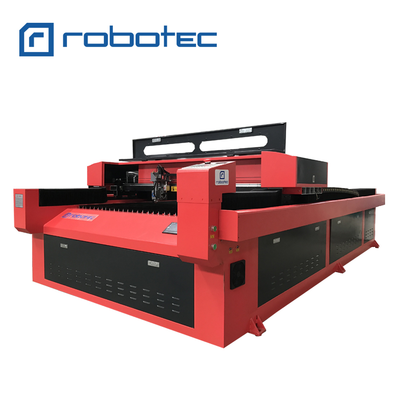 Hybrid Co2-laserskärmaskin, 220v / 110v laserskärare, CNC-gravyrmaskin M-serie för icke-metalliska material i metall