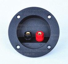 48MM circle ternminal speaker terminal box speaker cable wiring board hifi audio/Free Shipping