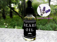 Lavender Fragrance 100% Natural & Organic Beard Conditioner – Leave in Beard Balm for Men 1fl oz