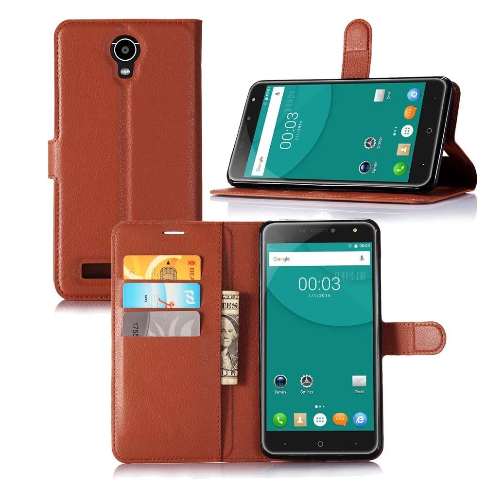 2017 nuevo teléfono móvil de cuero case para doogee x7/x7 pro 6.0 \