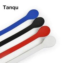 Tanqu длинный короткий плоская ручка для obag из искусственной кожи высота ручки Форма конец для вывода сумка ochic obag '50