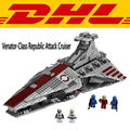 2017 LEPIN 05042 1200 Unids Star Wars Venator República Ataque de Clase Crucero Kits de Edificio Modelo Figura Juguetes de los Ladrillos Bloques regalo 8039