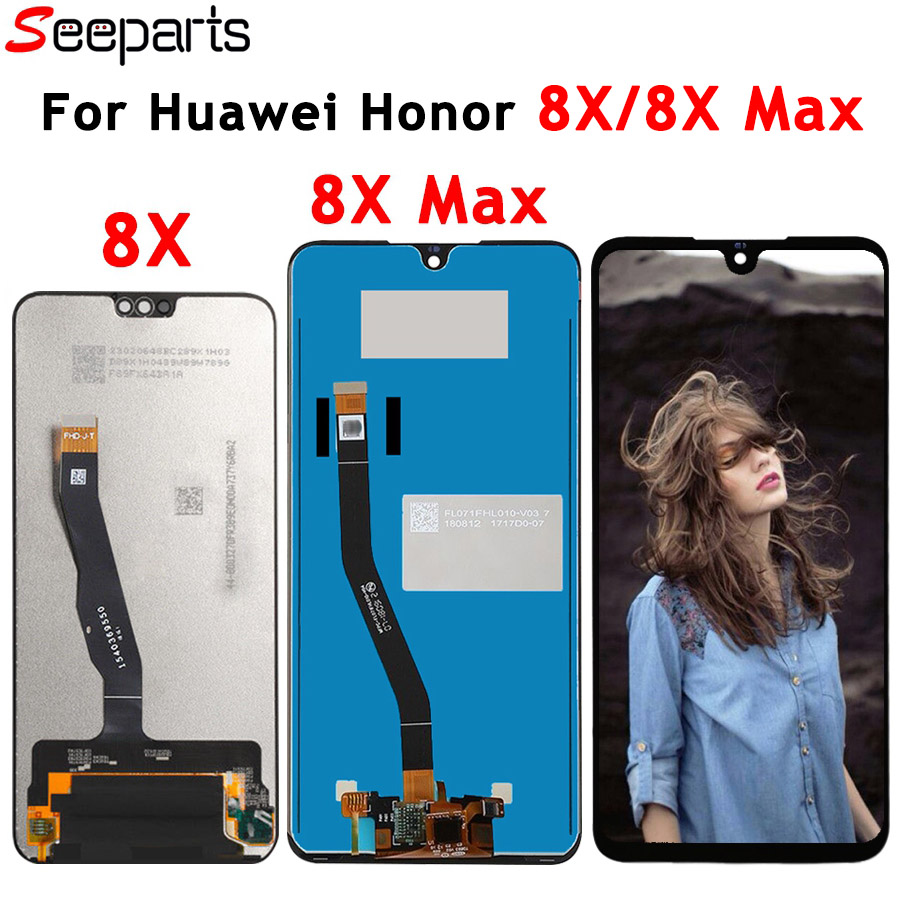 Huawei Honor 8X LCD Display Touch Screen Digitizer Assembly For HUAWEI Honor 8X MAX LCD Honor8X 8Xmax Screen Replacement Parts