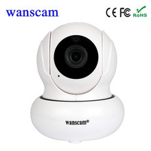 New wanscam P2P indoor wifi IP camera wireless cctv mini security camera home baby monitor surveillance camera support TF card