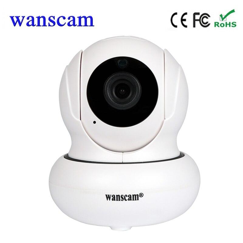 Nouveau wanscam P2P intérieure wifi caméra IP sans fil cctv mini caméra de sécurité moniteur bébé à la maison de surveillance support de caméra TF carte