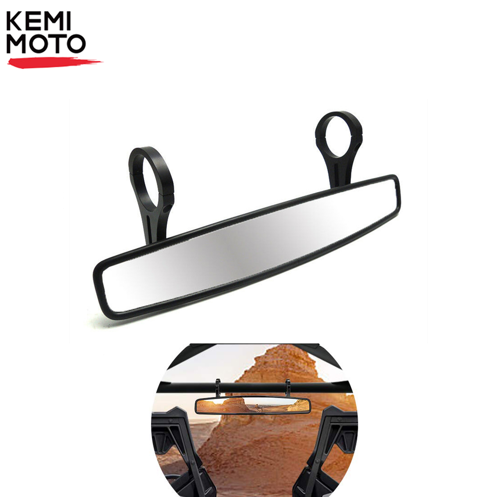 """1.75/"""" Clamp Rear View Mirror for UTV Off Road Large 2/' Can-am Commander Maverick"""