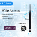900MHz whip antenna SMA Male connector806-960MHz Antenna for Signal Repeater/booster/ PCB bulliet 868&915MHz Alarm equipment
