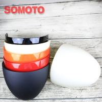 High Quality Plastic Rear Cover For Motorcycle Red Black Orange White Seat Cover For Vintage Motorcycle