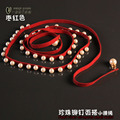 Brief all-match belly chain female fashion red pearl belt small waist rope one-piece dress waist decoration P194