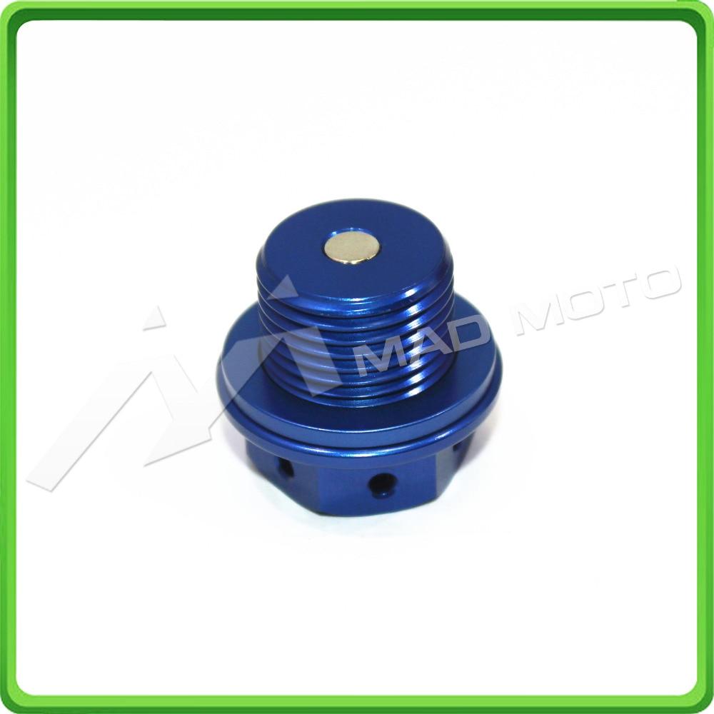 Магнитный сливной отвод масла M14 x 1,25 мм масляный дренажный болт M14 * 1,25 мм для Suzuki GSX1400 2001-2007 GSX1100F-Katana 1987-1996 синий