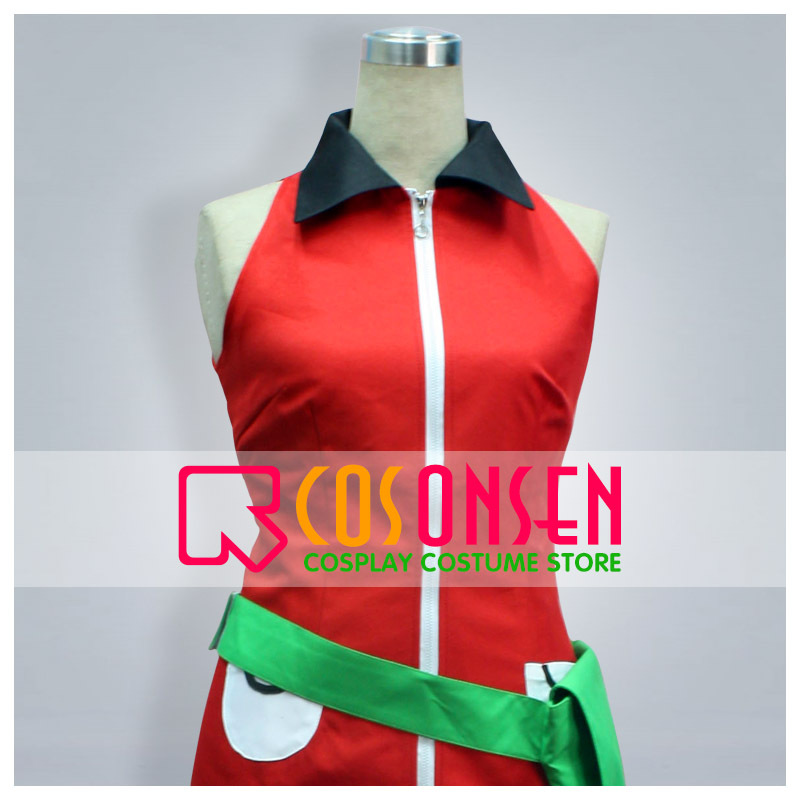 COSPLAYONSEN Pokemon Emerald Haruka Cosplay Costume Full Set All Size Custom Made image