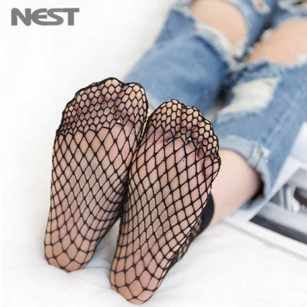 Новые женские комбинированные носки, сексуальные ажурные носки, короткие длинные Спортивные Повседневные носки, сексуальные модные носки