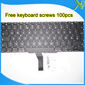 "5PCS---Brand New NO Norway Norwegian keyboard+100pcs keyboard screws For MacBook Air 11.6"" A1370 A1465 2010-2015 Years"