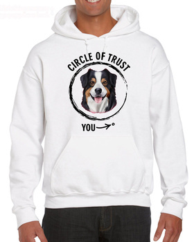 Funny Casual Short Sleeve Cool Circle Of Trust-Australian Shepherd, Aussie Breed For Dog Lover Casual Hoodies Sweatshirt circle of trust кардиган circle of trust circle of trust s15 83 455 daisy 2buy синий s