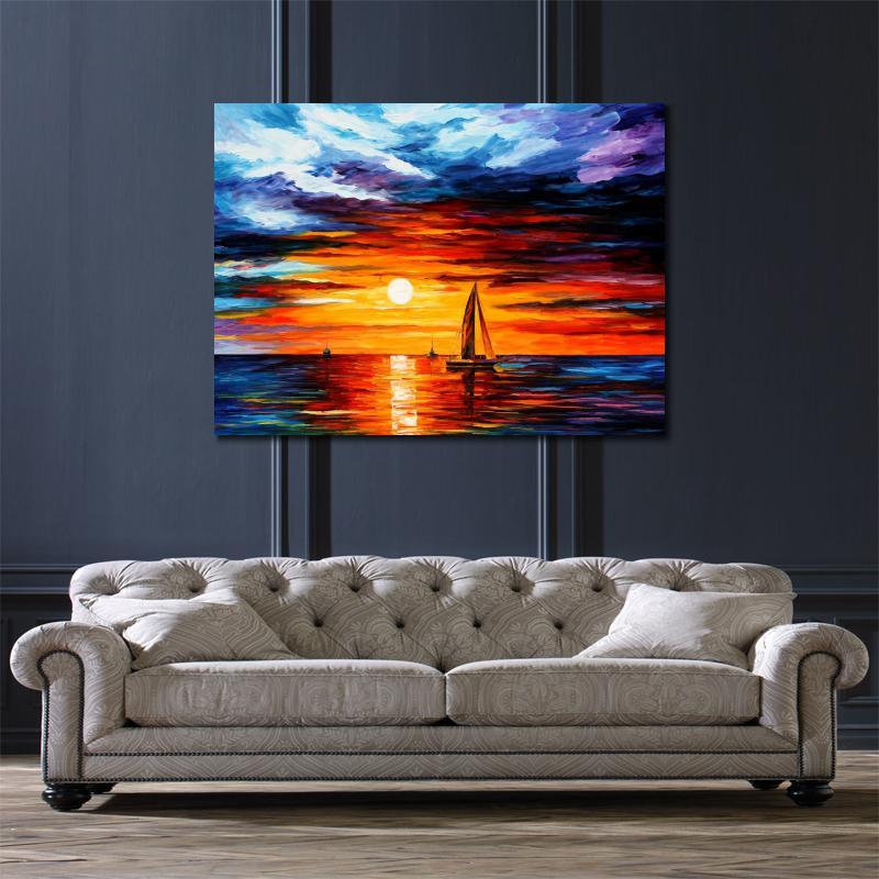Moderne landschap schilderijen bv 18 blessingbox for Moderne schilderijen