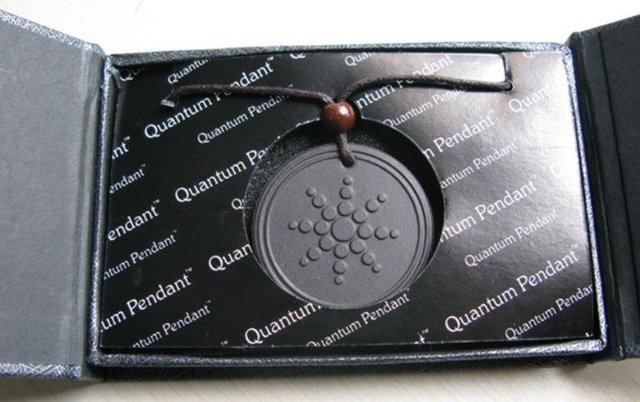 Wholesale - Quantum Science Scalar Energy Pendant With Product Registration Card 10pcs/lot