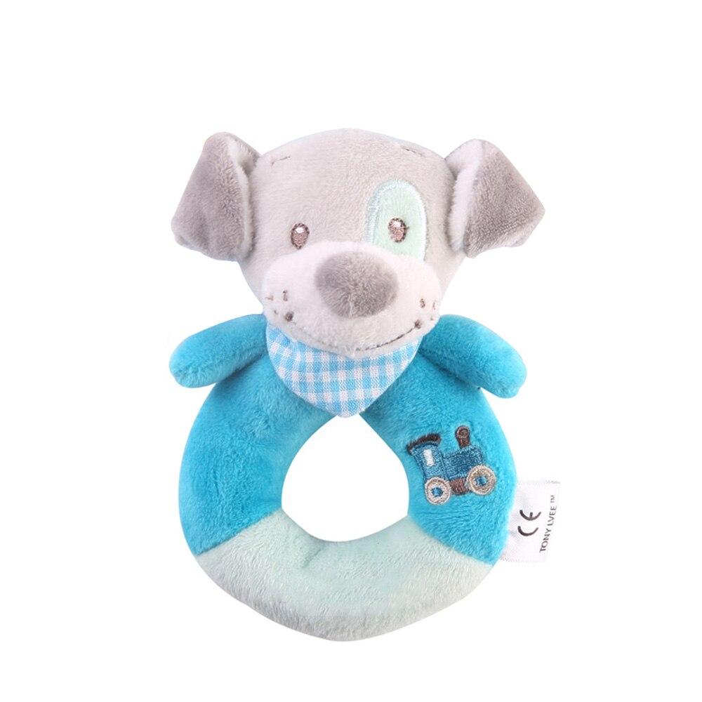 Детские погремушки Fulljion, развивающие игрушки для детей, Прорезыватель для зубов, Колокольчик для малышей, детская коляска, подвесные куклы - Цвет: dog