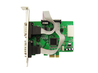 IOCrest PCI Express to 4 Port Serial RS232 COM DB9 Desktop Expansion Card WCH384 Chipset