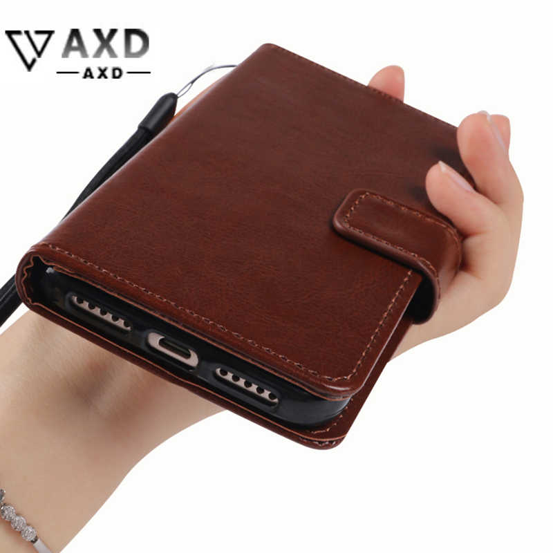 Wallet style flip cover for Doogee T6 Y6 Piano Y200 Y300 Pro fundas soft TPU silicone PU leather flip cover card slots kickstand