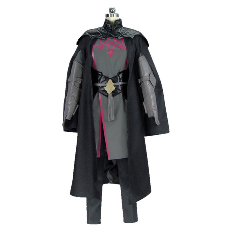 Emblème de feu Cosplay trois maisons mâle Byleth Cosplay Costume Cape Costume complet Halloween Cosplay Costumes
