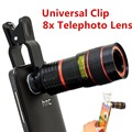 Moda 2015 x Zoom Telescope celular clipe para o iPhone 5 6 6 mais de telefone celular lente da câmera para Samsung CL-19B