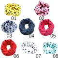 2016 Fashion Cotton Scarf Children O Ring Collars Kids Spring Autumn Winter Scarves Boy Girl Baby Clothing Accessories