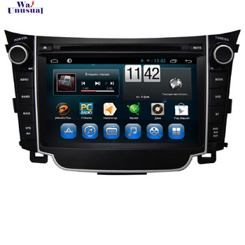 WANUSUAL Car Styling 7 Inch Android 6.0 Car GPS Navigation for Hyundai I30 Radio Player with Quad Core 16G 3G Wifi Bluetooth Map