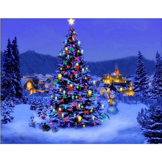 Christmas Tree Facebook Cover Photo: Aliexpress.com : Buy New 5D DIY Diamond Painting Night