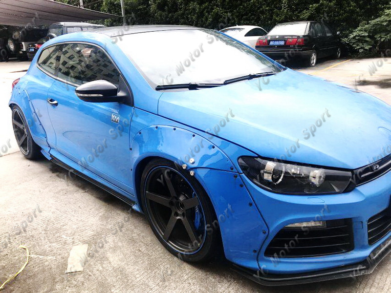 2011-2013 VW Scirocco R Karztec Style Wide Body Kit PCF (12)