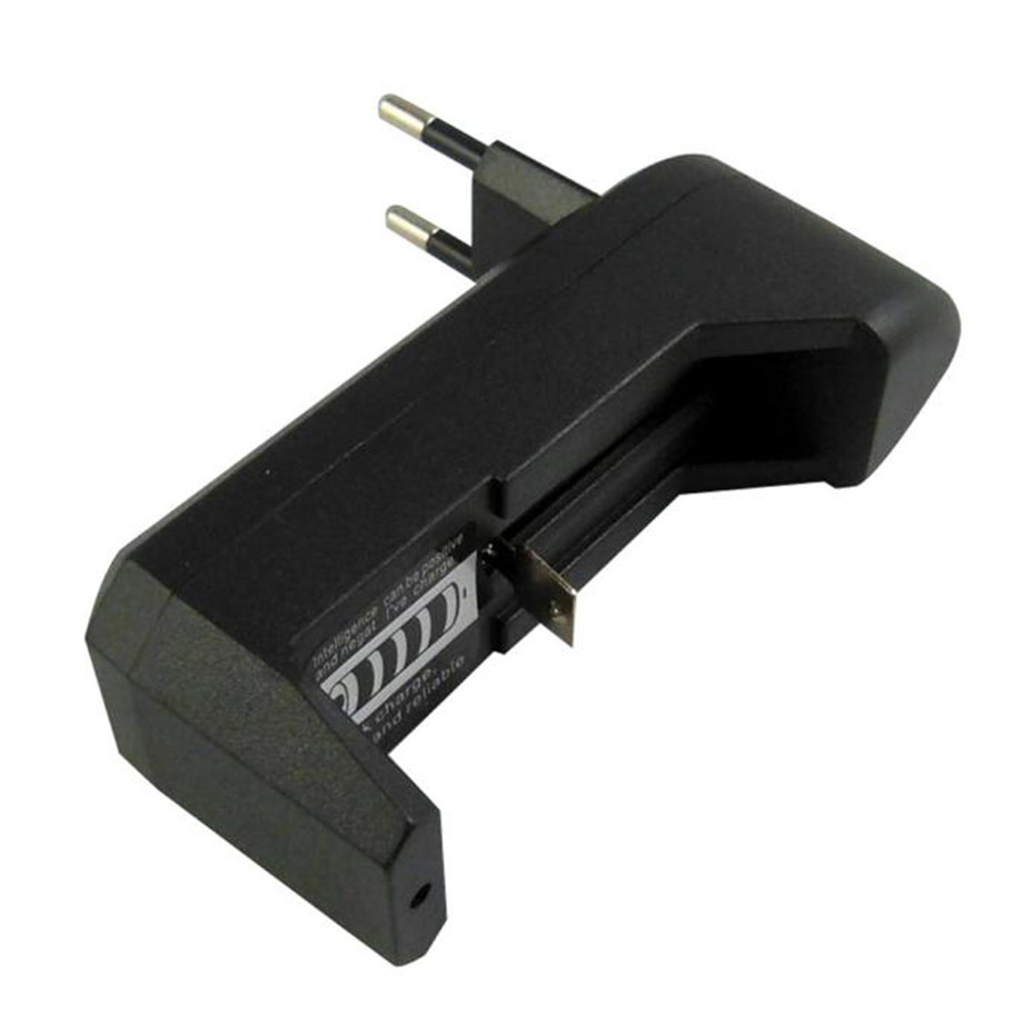 Ouhaobin Accessories EU Plug Charger Black EU Universal Charger For 3.7V 18650 16340 14500 Li-ion Rechargeable Battery Nov28
