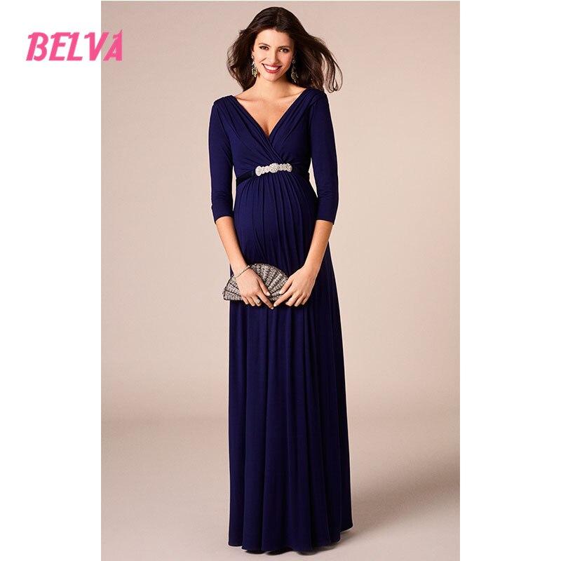 Aliexpress Buy Belva 2017 elegant long maternity