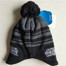 Wars Darth Vader Stormtrooper R2D2 robot Knitted Cap Cartoon Fashion Mask Beanies for Adult Kid Cap Winter Warm Hats with Pom
