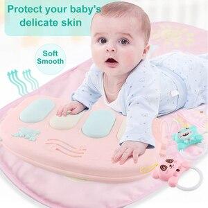 Image 3 - תינוק לשחק מחצלת ילדי של שטיח זחילה כרית ילד פיתוח Playmat מוסיקה תינוקות שטיח רעשן פעילות חינוך צעצועים לילדים