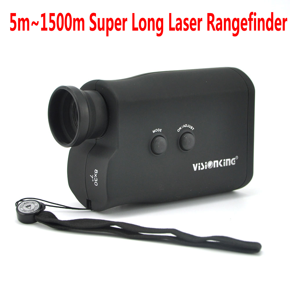 Visionking 8X30 Super Long Measure Distance Laser Rangefinder 1500m High Quality Big Caliber Golf Range Finder Hunting Finder