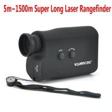 Visionking 8X30 супер дальность измерения лазерный дальномер 1500 м Высокое качество Большой Калибр Гольф дальномер охотничий искатель