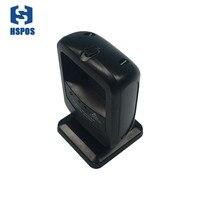 IP43 Desktop qr code Scanner 4mil 2D usb Barcode Reader 360 degree omnidirectional 2D CMOS image barcode scanner