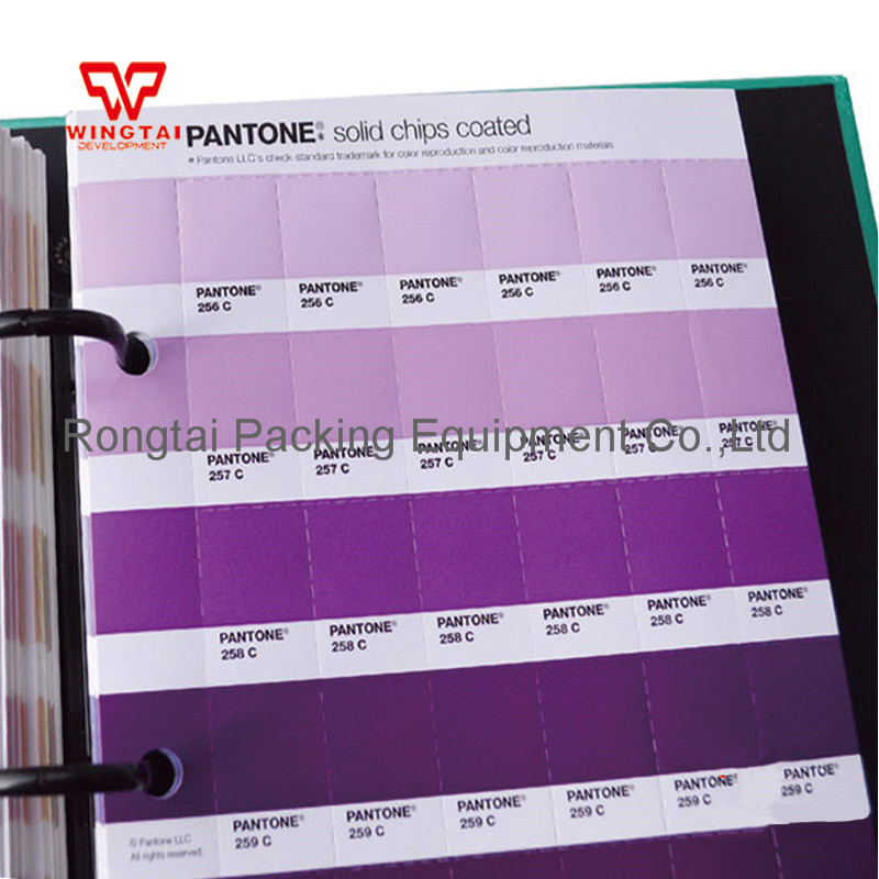 100 Usa Pantone Gp1606n Solid Chip Coated And Uncoated Color Chart