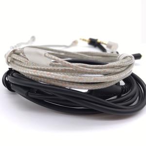Image 5 - Câble MMCX pour Shure SE215 SE315 SE425 SE535 SE846 plaqué or casque écouteurs câbles de remplacement pour iPhone xiaomi