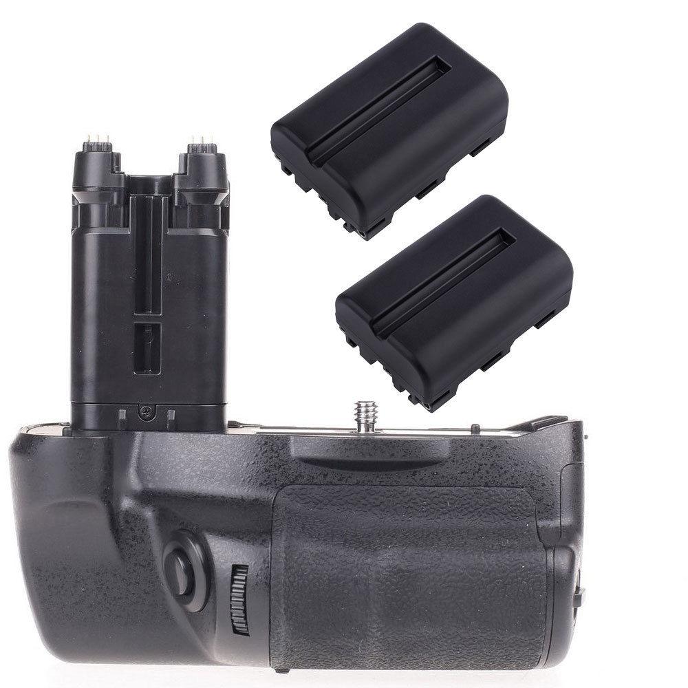 JinTu Battery Grip as VG C77AM 2pcs NP FM500H battery For Sony STL A77 A77V A77